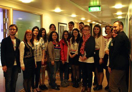 Liceenii din Babadag, Bistrița și Botoșani învață cum funcționează democrația norvegiană – vizită de studiu la Oslo, 16 – 21 mai 2015