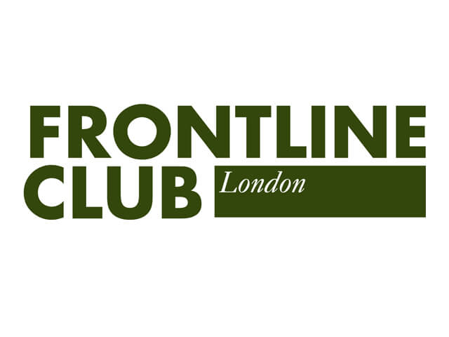 Frontline Club hosts journalism awards
